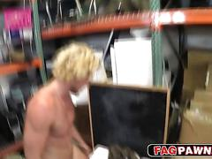 Surfer dude fucked in the mouth and ass