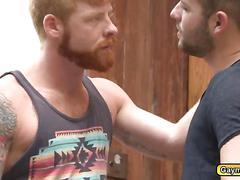 Bennett rims lukes anal before fucking