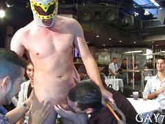 blowjob, hardcore, public, gay, party, striptease