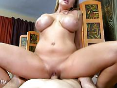 Chesty alanah rae pussy nailed in pov scene