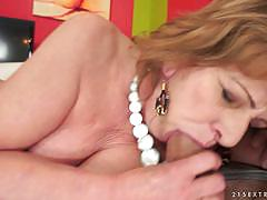 Throbbing inches ram into a mature woman