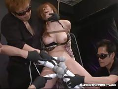 Asian amateur gets her pussy vibed