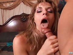 Randy babe fucked from behind
