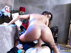 Monster cock fuck and facial for sexy ashley a...