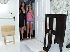 Hot blonde babysitter hope harper drilled deep...