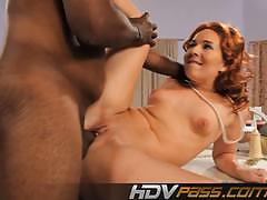 Redhead ashli orion gets her pussy nailed