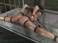 bdsm, brunette, hardcore, bondage, rough, nasty
