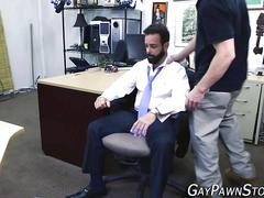 bear, gay, handjob, masturbation