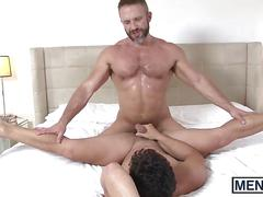 Dirk caber and nicoli cole in a hot bedroom banging