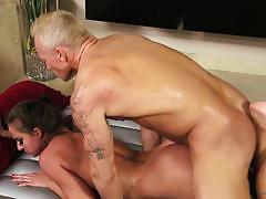 Oily nuru massage with amirah adara sliding co...