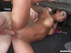 Natalia mendez takes a hard pounding