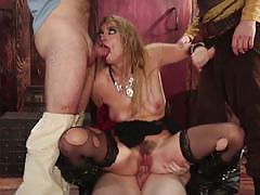 Group facial for sexy pirate keira nicole