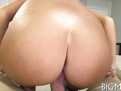 Superb brunette bitch is ready to fuck like a slut
