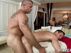 Anal fucking the dude who is a hot fuck