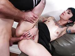 Rachel ravaged stuffed by a massive cock