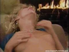 Natural blonde from vintage sex film