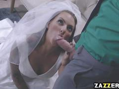 Sleazy johny fucks every bride to be