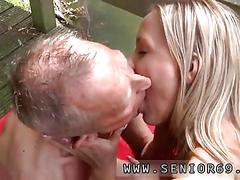 Roxy reynolds fucks her old yoga teacher outdoors
