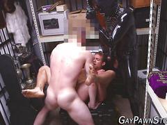 Fetish amateur gets cum masturbation