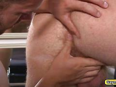 Lukes anal rimmed and fuck by bennett