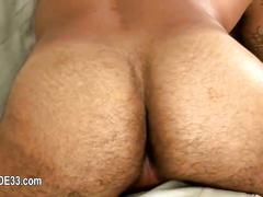 Jerking off and cock pumping of great poove