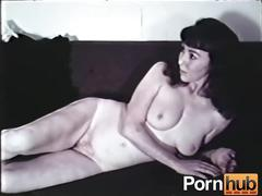 big tits, striptease, vintage, pornhub.com, hairy, small-ass, skinny, brunette, natural-tits, 60s, raven, classic, heels