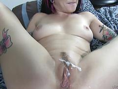 Joanna angel getting drilled in her butthole
