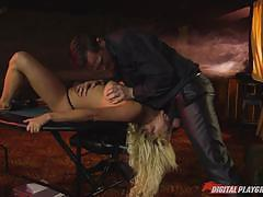 Clit slit babe sienna day is won in a poker ga...