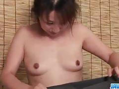 Rough sex for japanese babe