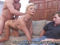 big tits, blonde, fetish, milf, naughtyswingerwife, mom, mother, naughty, swinger, couples, bigtits, cuckold, pussy-eating, cock-sucking, blowjob, doggy-style, reverse-cowgirl, cumshot