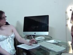 toys, lesbian, british, verified amateurs, girl-on-girl, dominatrix, lesbian-domination, big-tits, big-arse, job-interview, lesbian-interview, lesbian-strap-on, nerd-glasses, roleplay, pussy-licking, sloppy-dildo-suck, pussy-licking-orgasm, fucking-boss, sookie-blues