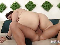 Buxom bella devours this hard cock