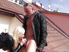 Vanessa gets some outlaw dick up high