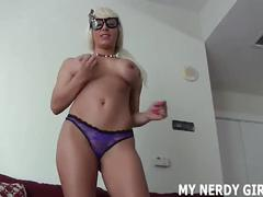 I might be nerdy but i can give a great handjob joi