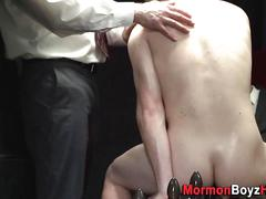 Mormon amateur takes bj