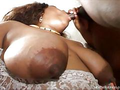 blowjob, huge tits, ebony bbw, deep throat, busty milf, huge ass, brown hair, on bed, chubby sistas, melody nyte, dwayne cummings