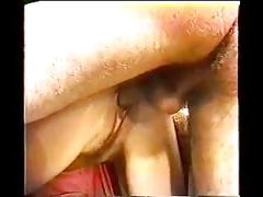 Hairy pussy close up threesome