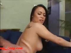 Donny long breaks tight asian pussy of mya luanna donnylong.com