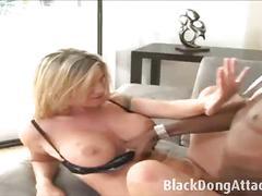 Naughty sex addict milf takes a bbc