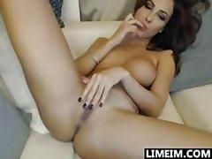 Beautiful brunette webcam slut amateur