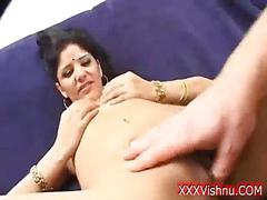 Sexy indian beauty getting her soft pussy licked and pounded