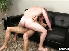 Straight male getting fucked in the ass for cash movie