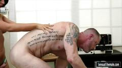 Big tits brunette shemale chanel santini fucks nasty dude