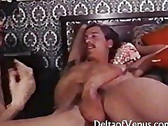John holmes - vintage anal & blowjob