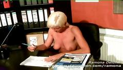 Hot blonde amateur ramona deluxe
