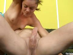 Michelle peters has her throat fucked