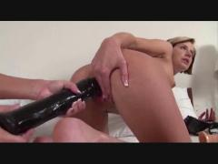 2 hot bitches with huge toys
