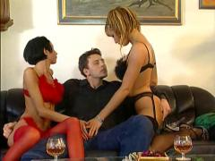 Sandra iron - perfect threesome