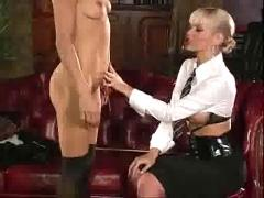 Head mistress makes cytheria squirt by troc
