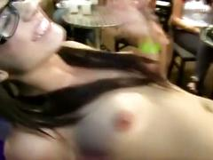 Cfnm sluts stripper fuck party